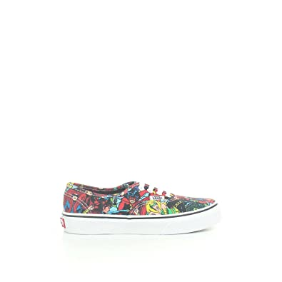 Vans X Marvel Comics Authentic Multi White Kids Size 1.5 a3860cfae