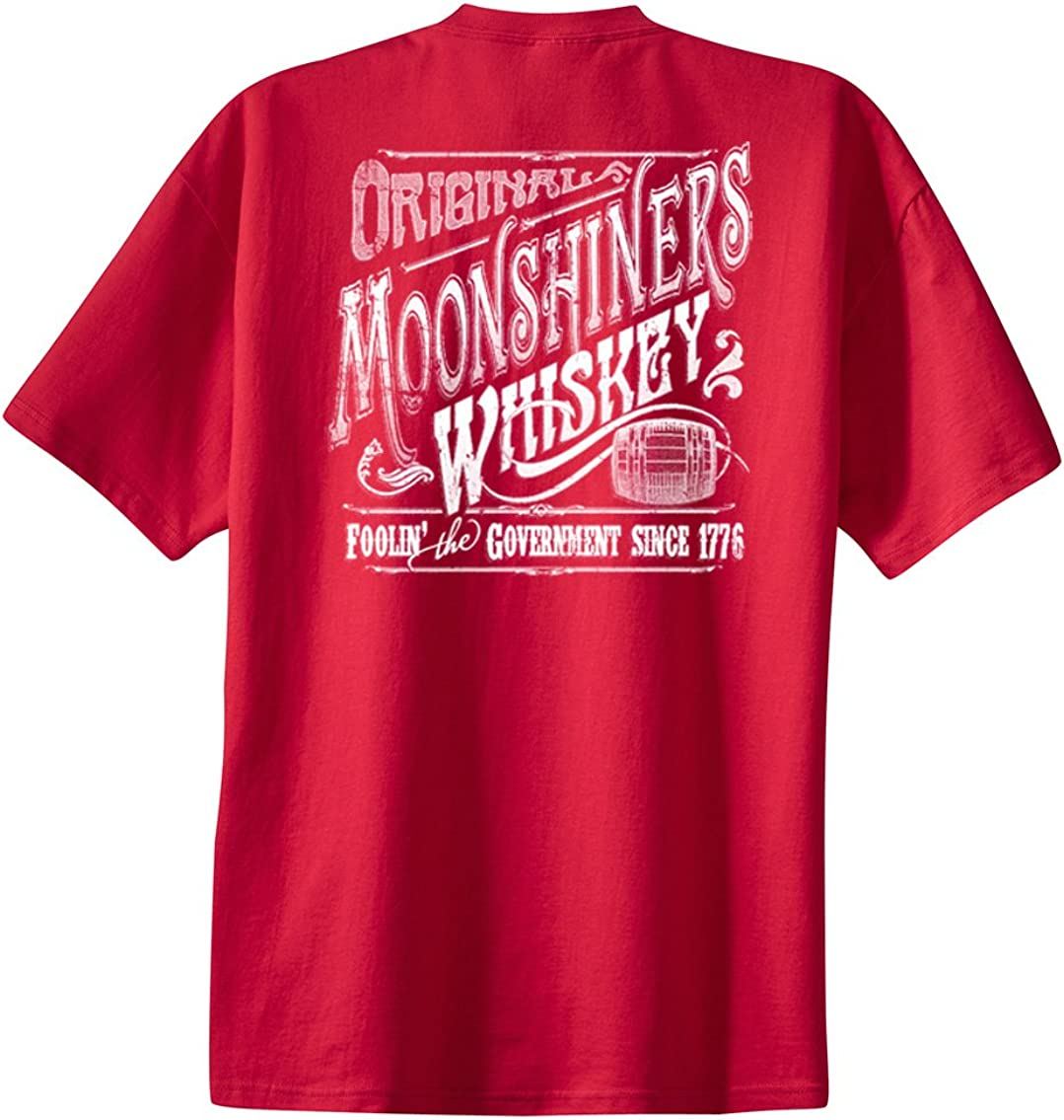 Original Moonshiners Whiskey Foolin' The Government Since 1776 Funny Alcohol Party Moonshine Shine Gin Rum