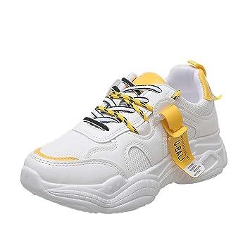 Zapatilla Deportiva de Mujer Shoes de 3 cm Zapatilla Cierre ...