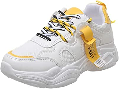Zapatilla Deportiva de Mujer Shoes de 3 cm Zapatilla Cierre Cordones al Tono Colorido Zapatilla Ideal para llevar a Diario Combinable con Cualquier Look Zapatillas Mujer Moda Calzado de Running: Amazon.es: Instrumentos