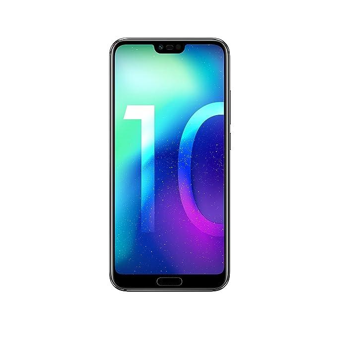 Honor 10 Smartphone (14,83 cm (5,84 Zoll), Full HD+ Touch-Display, 64GB interner Speicher, 4GB RAM, Schwarz - Deutsche Versio