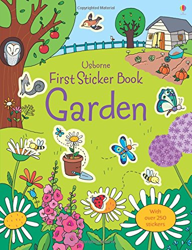 First Sticker Book Garden (First Sticker Books)