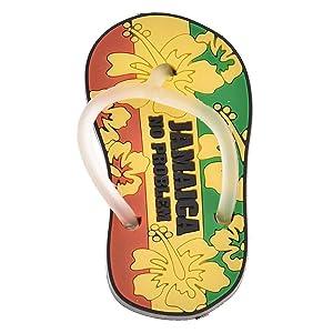 Lychee Refrigerator Magnet Jamaica Home Kitchen Decorative Fun Polyresin Souvenir Gift