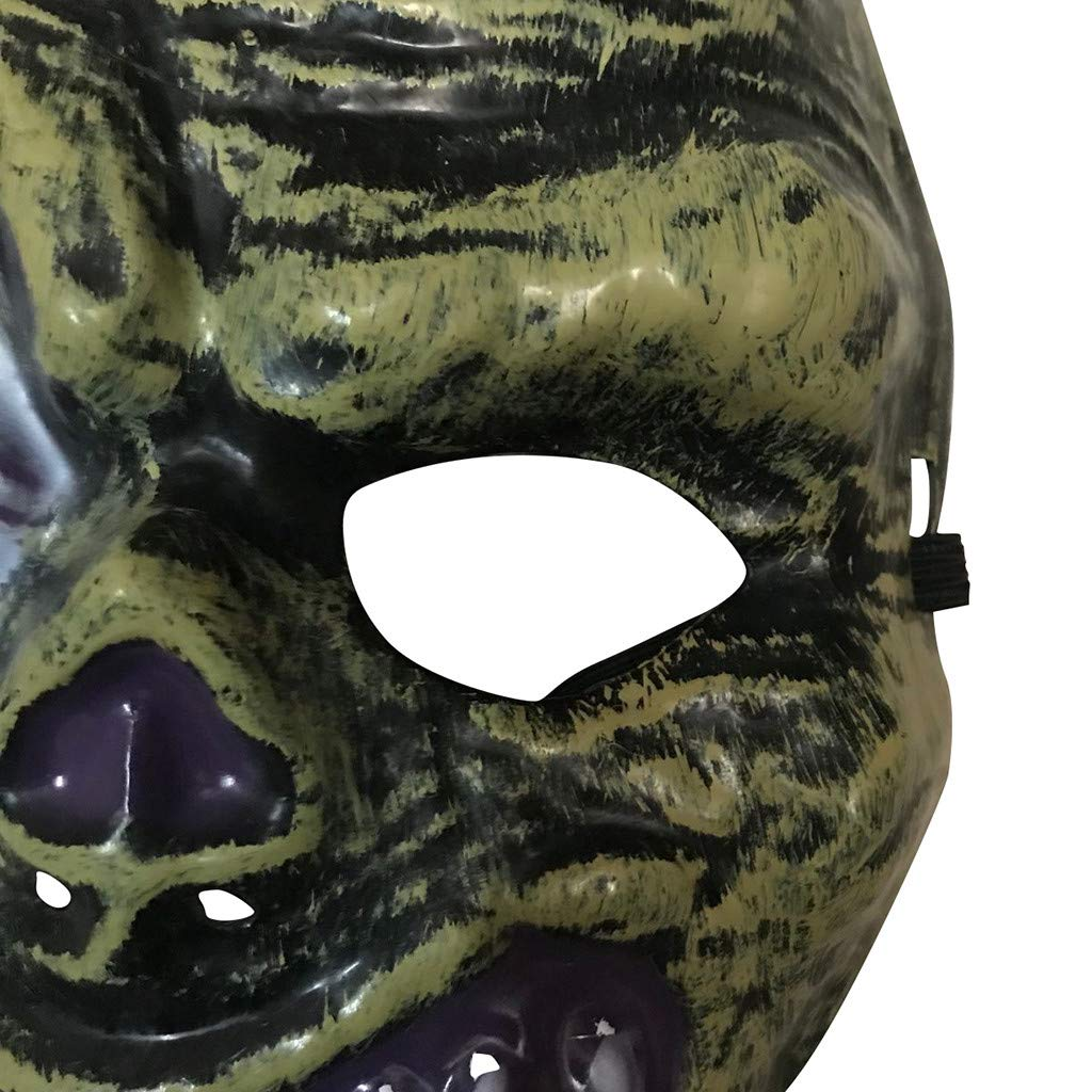 Amazon.com: Máscara de terror para Halloween, para adultos ...
