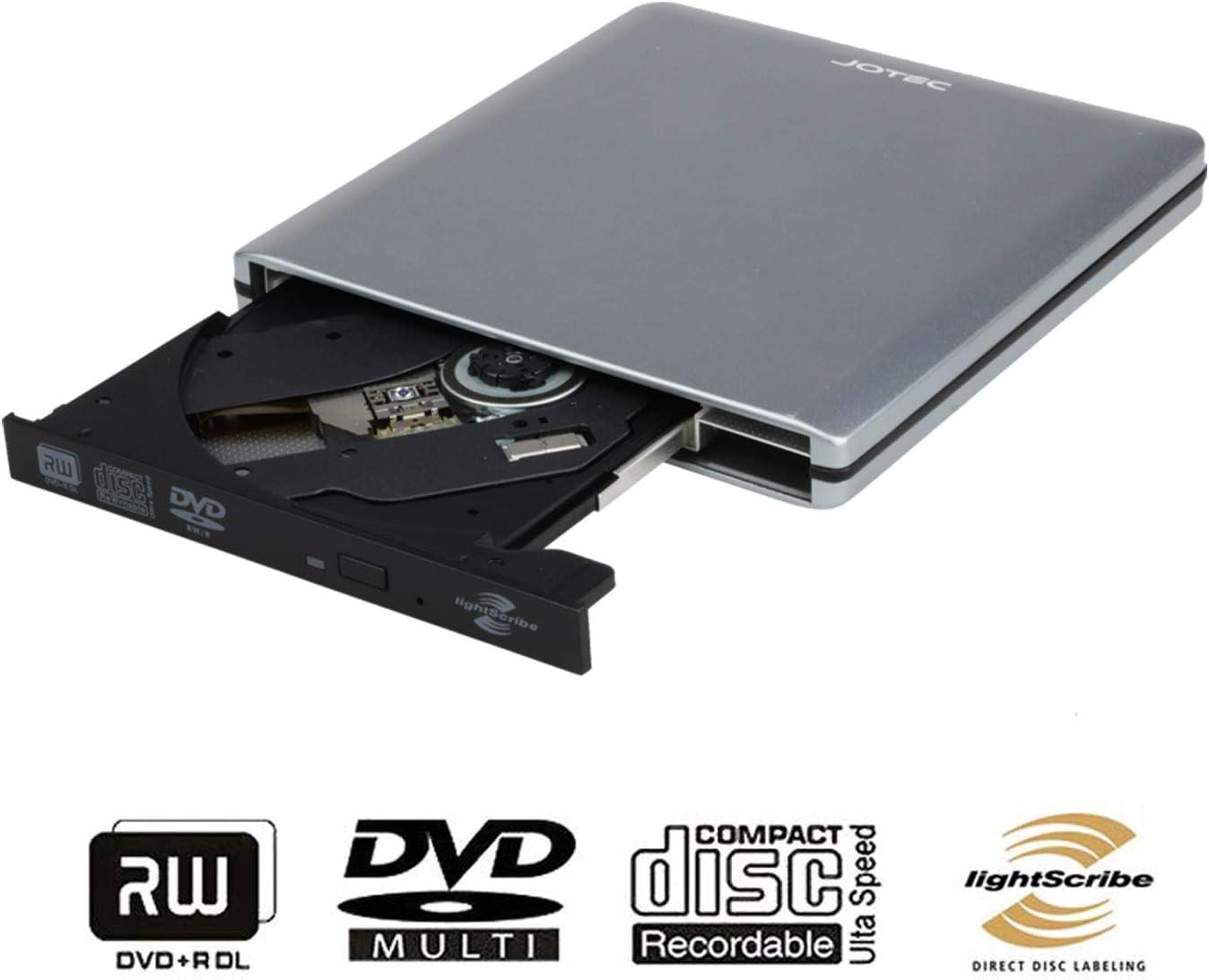 USB 2.0 External CD//DVD Drive for Compaq presario cq61-315ex