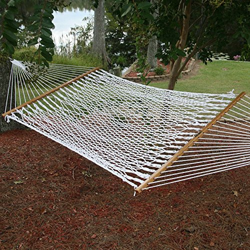 Pawleys Island Large Polyester Rope Hammock by Hammock Source