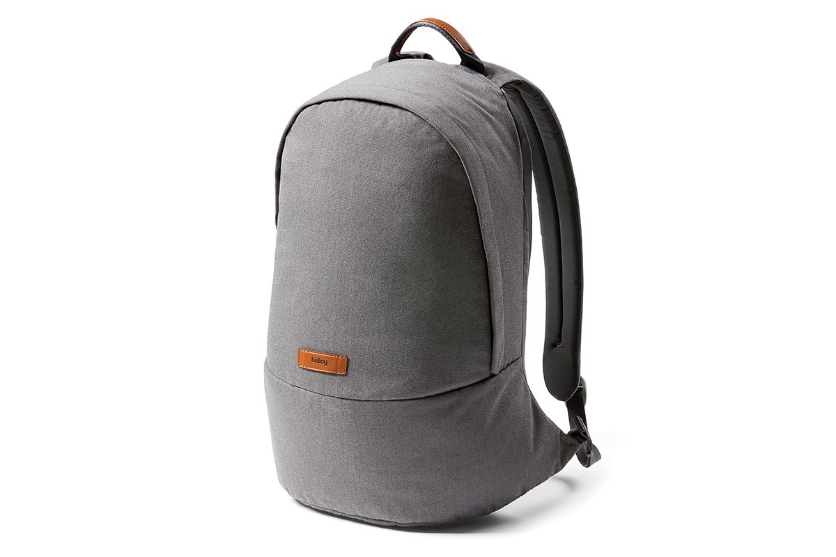 Bellroy Classic Backpack (17 liters, 15'' laptop)-MidGrey by Bellroy