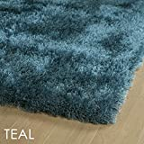 Bombay Home Hand-Tufted Dazzle Shag - 3' x 5' Teal