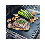 Software : CAILLU BBQ Grill Mat - 17 x 14 inches (Set of 2) - multipurpose can be used for baking and on ovens - reusable and non stick-can used on electric, charcoal and gas grill-easy clean