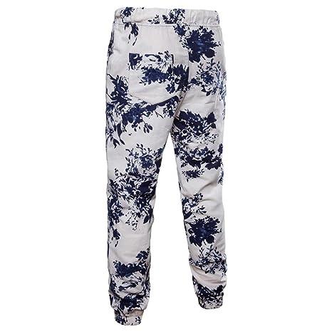 772a1dd54ff Longay Men s  Plus Size Trousers Harem Sweatpants Slacks Casual Jogger  Sportwear Baggy Comfy Pants at Amazon Men s Clothing store