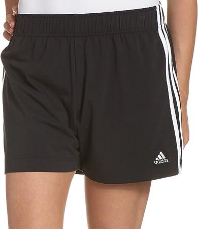 adidas Damen Essentials 3-Stripes Knit Short, Damen, schwarz ...