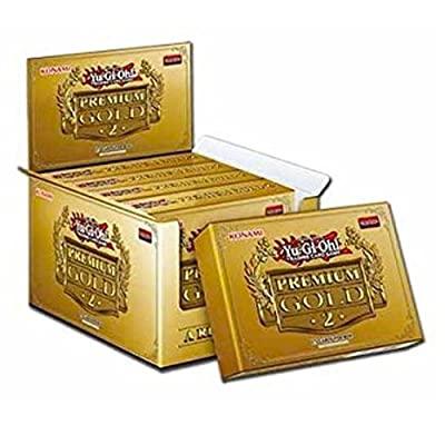 5 x Yugioh Premium Gold Series 2 Return Of The Bling Brand new and sealed by Yu-Gi-Oh