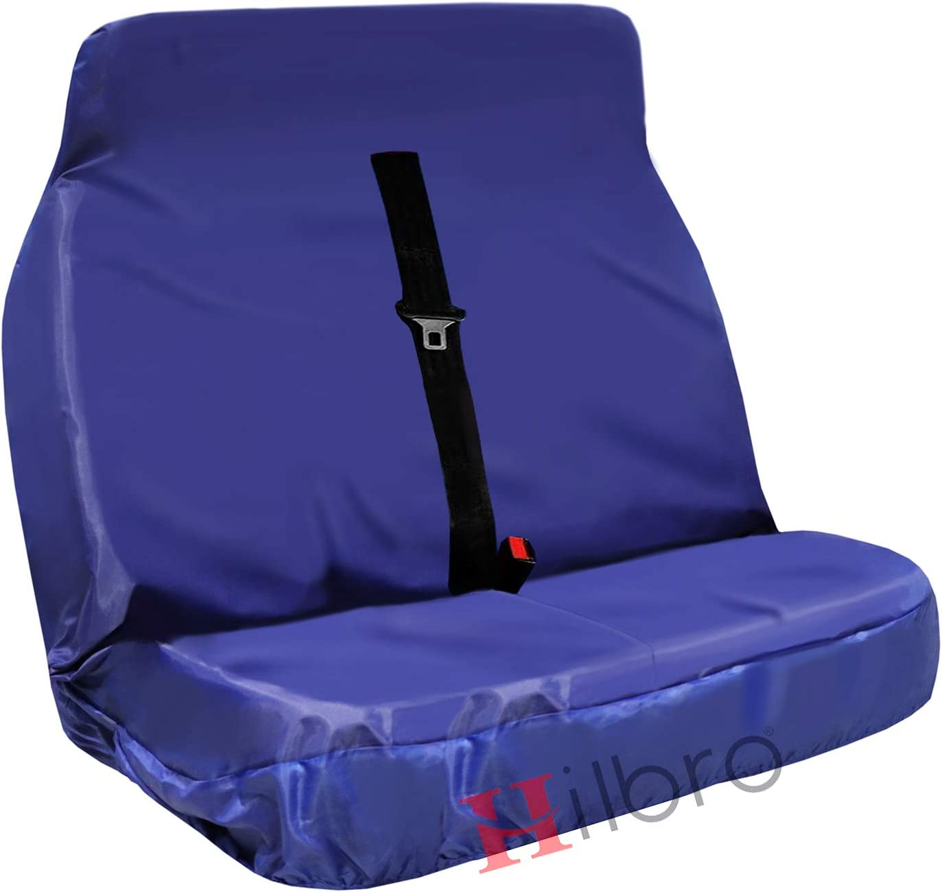 Hilbro Transit Custom Heavy Duty 2 1 Waterproof Van Front Seat Covers Single Driver HD2 1 Camo Blue Double passenger
