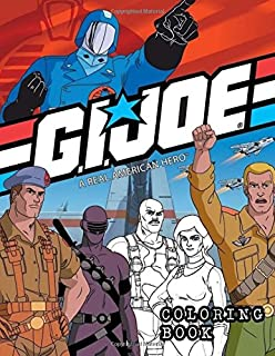 Amazon.com: G.I. Joe Coloring Book: Coloring Book for Kids and ...