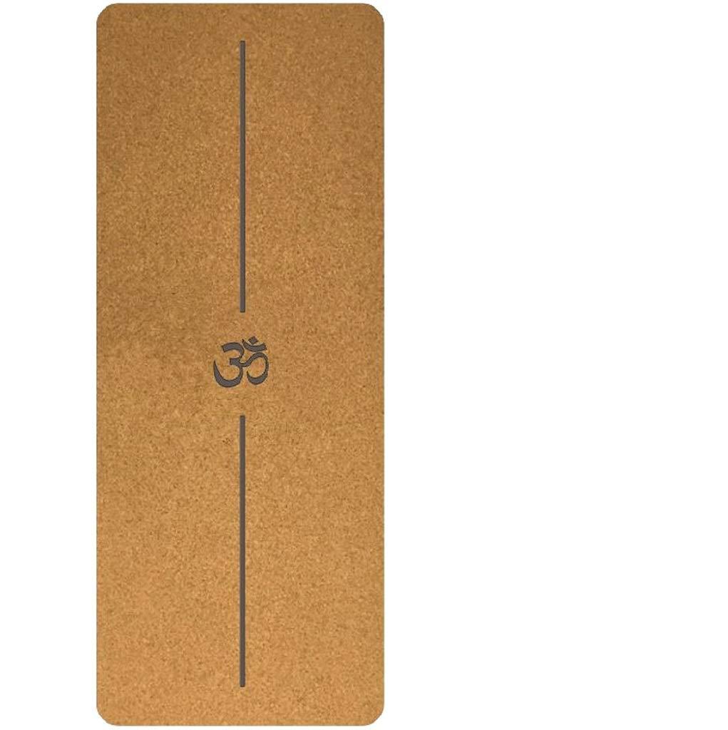 D Formation Tapis d'exercice Tapis de yoga en caoutchouc pour fitness Mat Tapis de yoga professionnel pour la prougeection de l'environnement et antidérapant, dédié au studio de yoga pour la remise en for 3mm