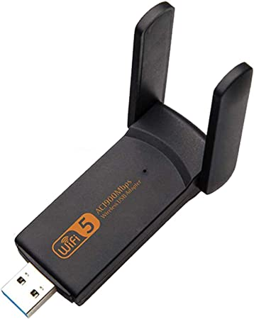Adaptador USB WiFi, 1900M 2.4G 5G WiFi de Banda Dual PC USB ...