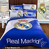 JORGE'S HOME FASHION INC SOCCER SPAIN REAL MADRID ORIGINAL LICENSE TEENS BOYS WONDERFUL DESIGN COMFORTER SET AND SHEET SET QUEEN SIZE