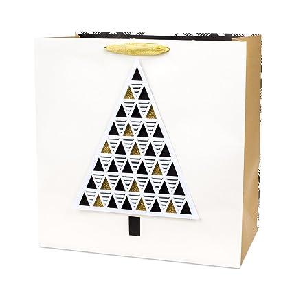 hallmark signature extra large christmas gift bag tree and plaid