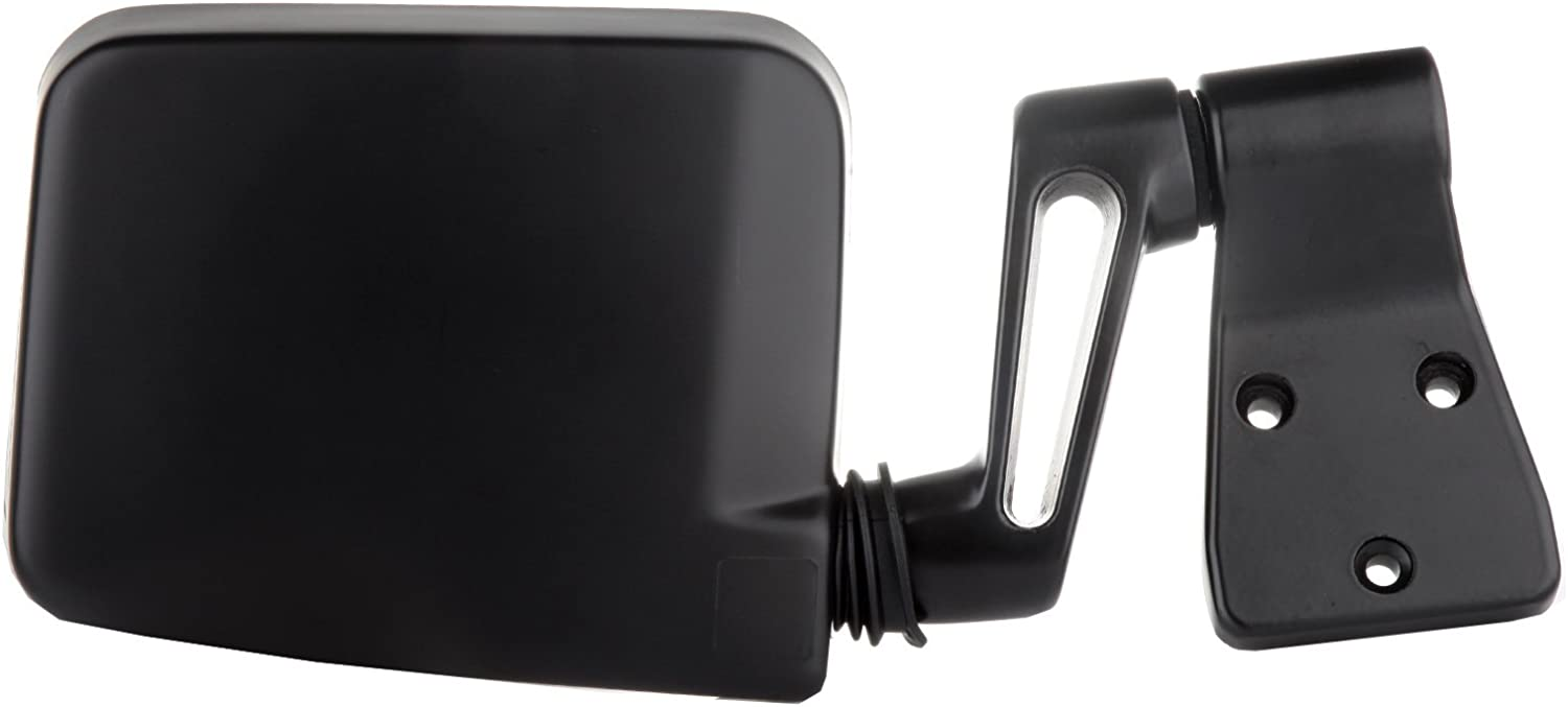 Textured FINDAUTO A Pair of Side View Mirror Manual Adjustment Left and Right Side Mirrors Fit For Jeep Wrangler 1997-2002 Jeep Wrangler Jeep Wrangler Models with Half Door Manual Folding Non-Heated