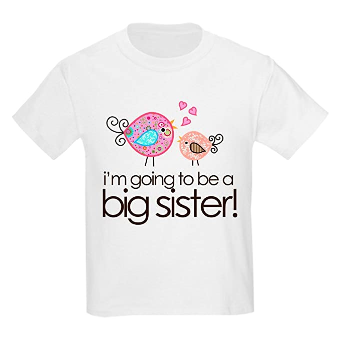 f21fca321 Amazon.com  CafePress - I m Going To Be Big Sister Whimsy Bird Kids ...