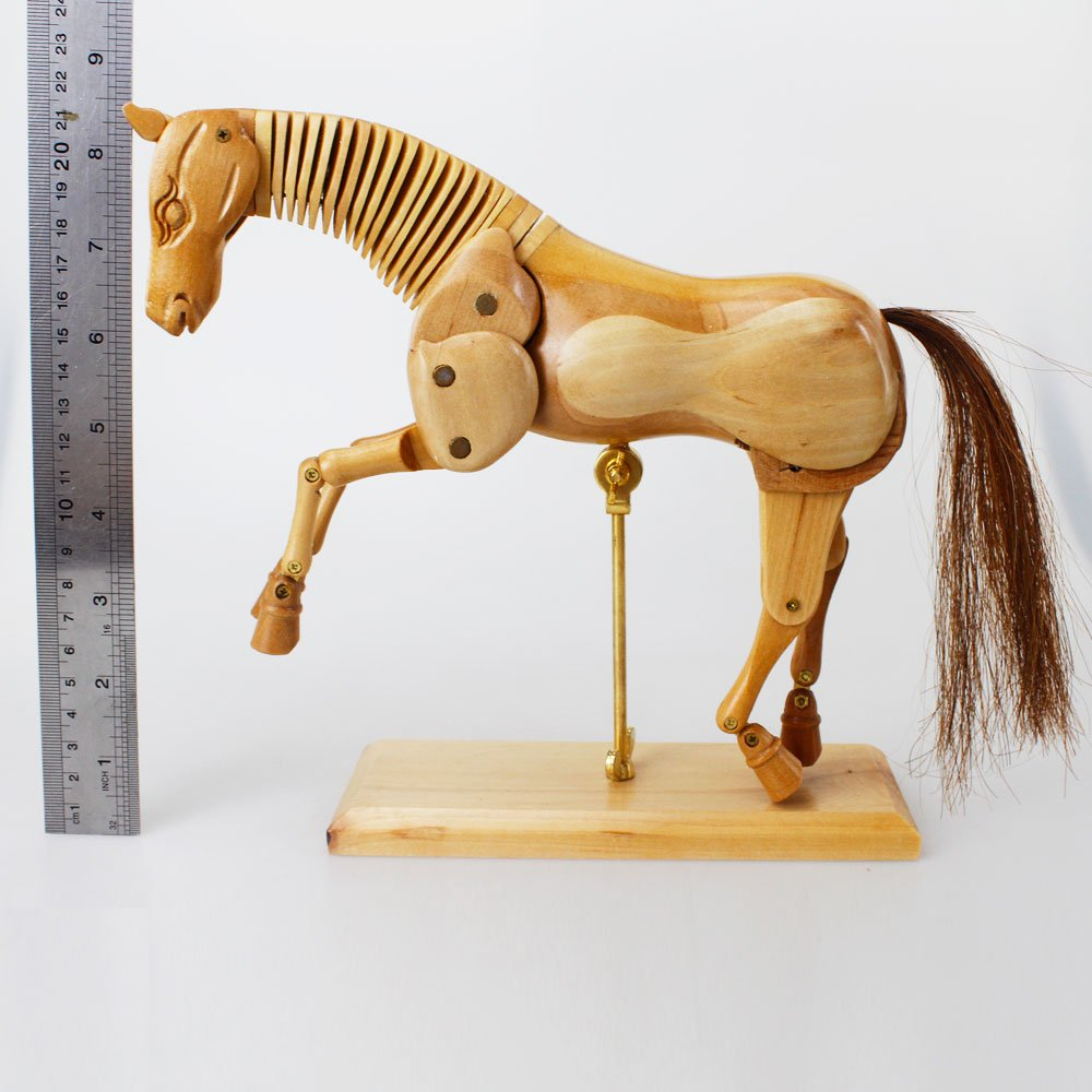 Modelo de madera del caballo de Earlywish Modelo del dibujo del ...