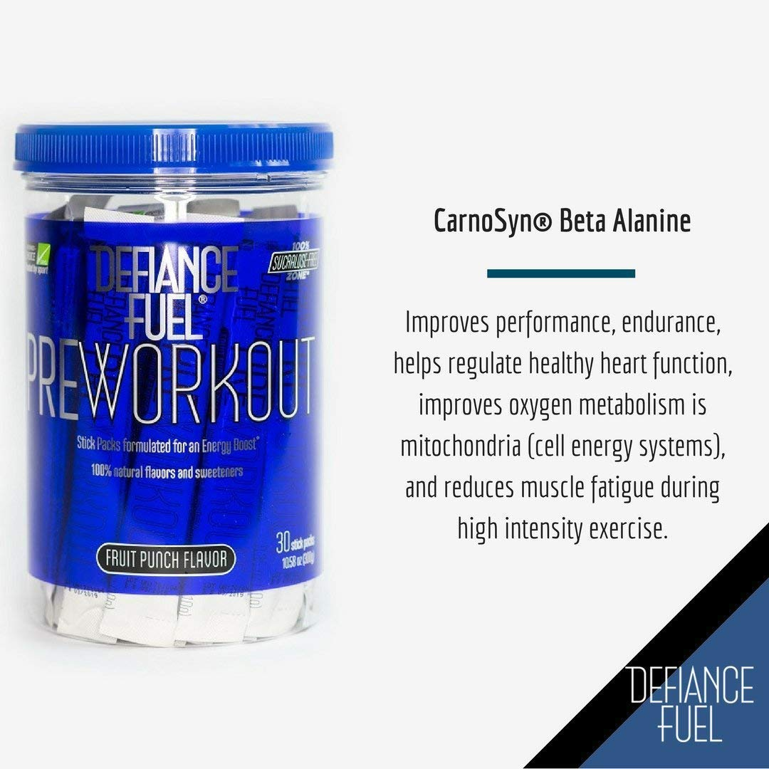 Defiance Fuel Pre Workout Powder Energy Drink w/ Beta Alanine, Taurine and Amino Acids by Defiance Fuel (Image #7)