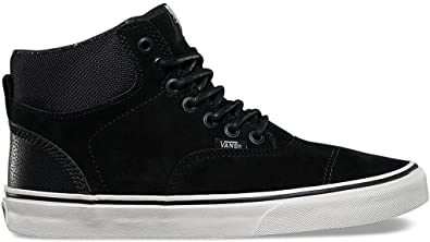 e39982caa4 Image Unavailable. Image not available for. Color  Vans Era Hi CA Pig Suede  Nylon Blanc de Blanc Men s Skate Shoes ...