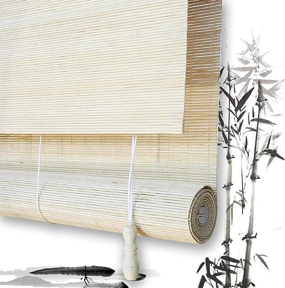 Estores De Bambú Persianas QIANDA Filtrado De Luz Venecianas Enrollable Cortina Tejido Simple Protección De Privacidad, Ninguna Tamaños (Color : B, Size : 110cmX160cm): Amazon.es: Hogar