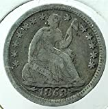Seated Dime Dated 1837 to 1891 Grades Better Than Dime Very Good