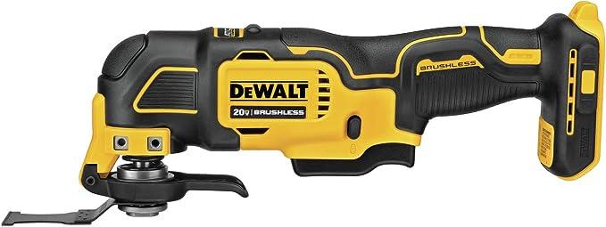 DEWALT DCS354B ATOMIC 20V Max Brushless Cordless Oscillating Multi-Tool (tool only) - - Amazon.com