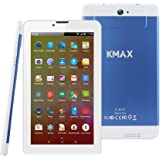 ECVILLA KMAX 3G Tablet PC, 7 Pollici Display IPS (MTK Quad Core, 2GB RAM, 8GB eMMC, Android 5.1) Bluetooth, WiFi