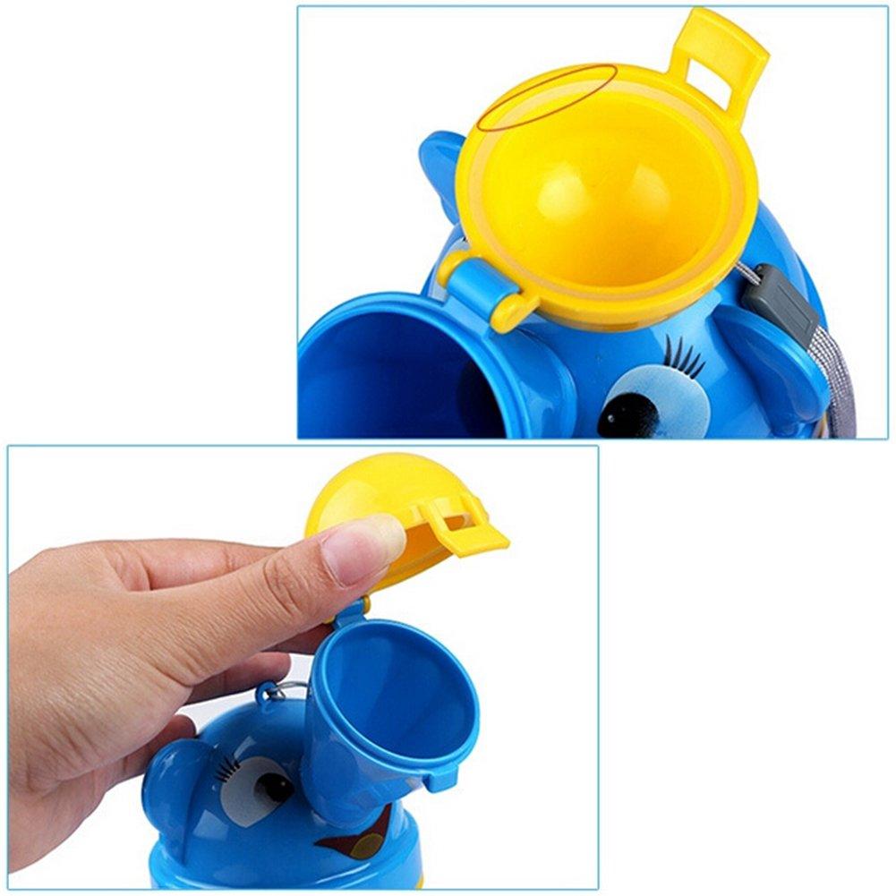Viaje port/átil coche orinal urinario WC pee botella para beb/é Ni/ños y Ni/ñas amarillo amarillo