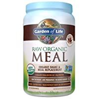 Garden of Life Meal Replacement Chocolate Powder, 28 Servings, Organic Raw Plant...