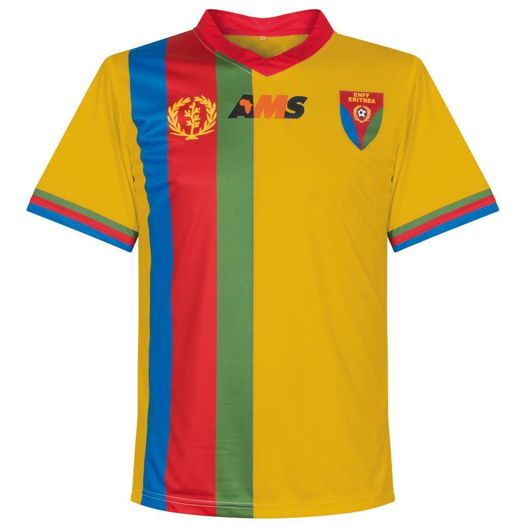 AMS 2016-2017 Eritrea Third Football Soccer T-Shirt Trikot
