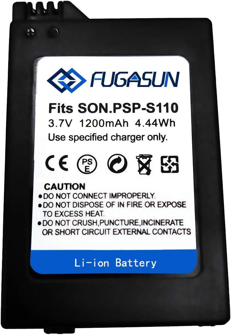 1 Piezas 1200 mAH PSP-S110 Batería PSP S110 Batería para Sony Playstation PSP2000 PSP2001 PSP2003 PSP2004 PSP3000 PSP3001 PSP3003 PSP3004 (1 pcs Battery)