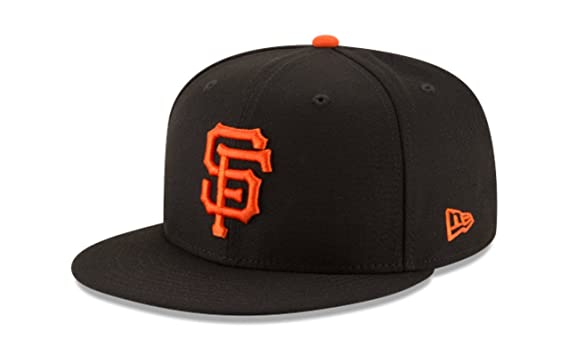 the latest 65eae 17a18 Image Unavailable. Image not available for. Color  New Era 950 MLB Basic  Team Color SAN Francisco Giants Snapback Cap