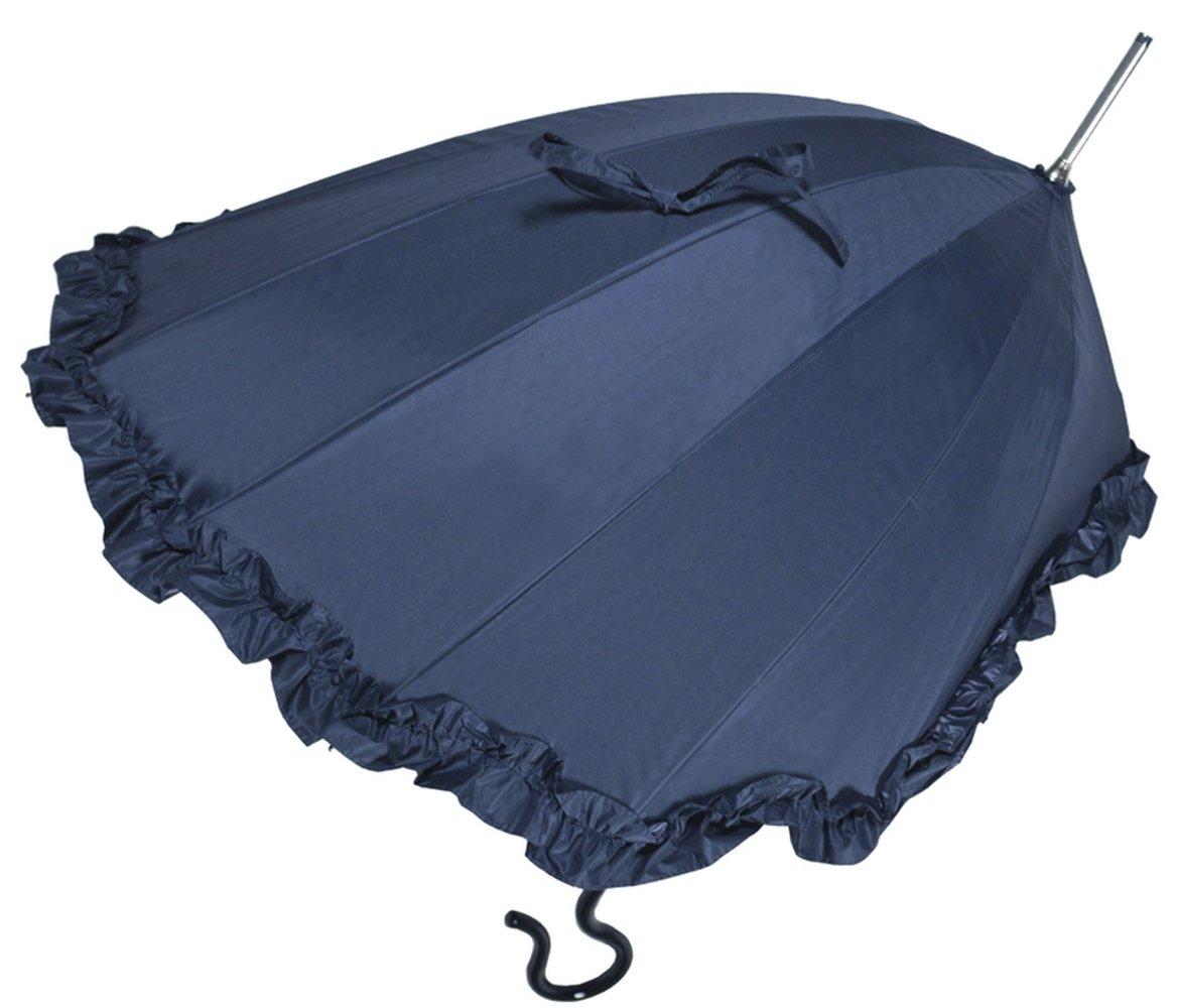 【正規輸入品】 ディチェザレ デザイン パラシェル リンダ 全6色 長傘 手開き 日傘/晴雨兼用 ネイビー 11本骨 21-63cm カーボンファイバー骨 高級品 B00T7RGEYS ネイビー ネイビー