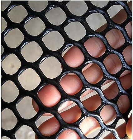 Red de plástico Ancho Rejilla de Jardín Valla de Jardín Valla de Plástico Malla de 8 Mm Color Verde Oscuro (Color : Black Hole 0.8cm, Size : 0.5 * 30m): Amazon.es: Hogar