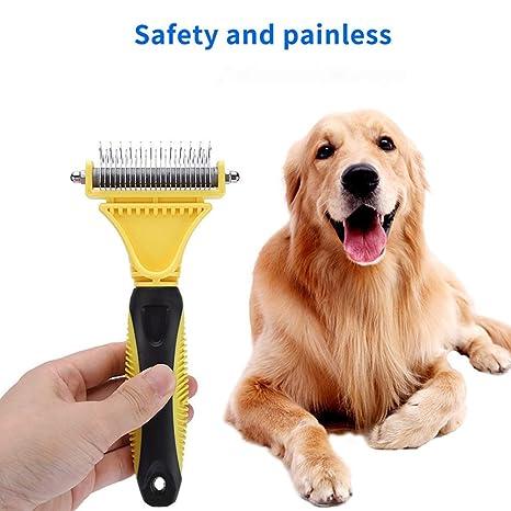 GFFG Cepillo de Limpieza para Perros y Gatos, para Perros Grandes ...