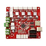 Control Mother Board Mainboard for ANET A8 DIY 3D Printer (red)