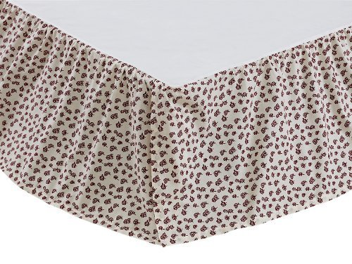 Embroidery Bedskirt - 1