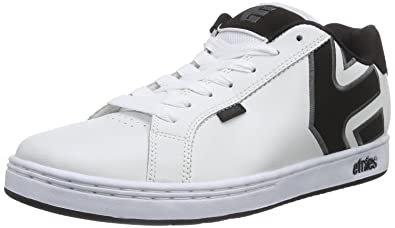 Etnies Fader 2, Chaussures de Skateboard Homme, Blanc (White/Grey/Black), 42 EU