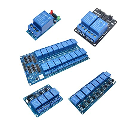 5 12V 24V 1~16-Channel Relay Module Board Shield For PIC AVR