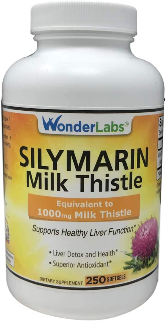 Silymarin Milk Thistle – 250 Softgels 8122