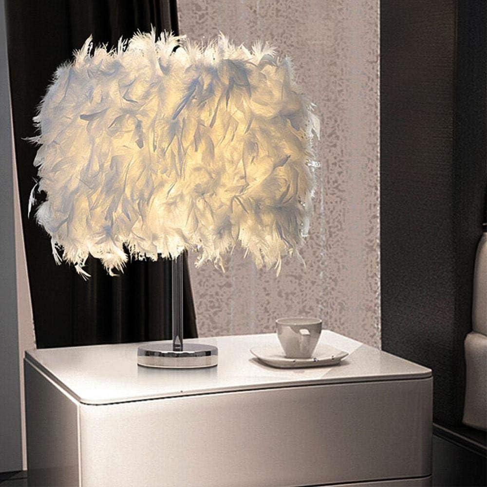 Dimmbar Feder Lampe Tischlampe Schreibtisch Nacht Lampe Valentinstag