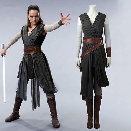 Rubyonly Las películas de Star Wars Disfraces Última Jedi Gris Rey ...