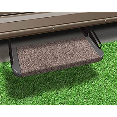 Prest-O-Fit 2-0311 Outrigger RV Step Rug Walnut Brown 18 in. Wide: Automotive