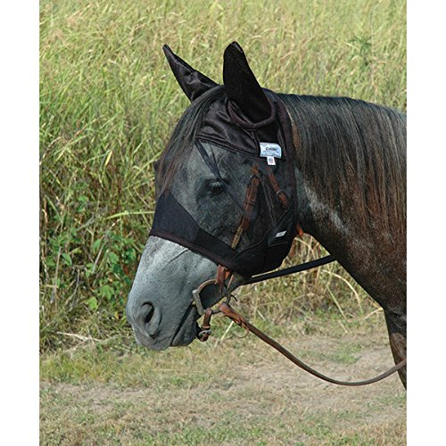 Cashel Quiet Ride Fly Mask with Ears Arab by Cashel