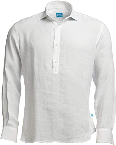 Panareha MAMANUCA - Camisa de lino para hombre: Amazon.es ...