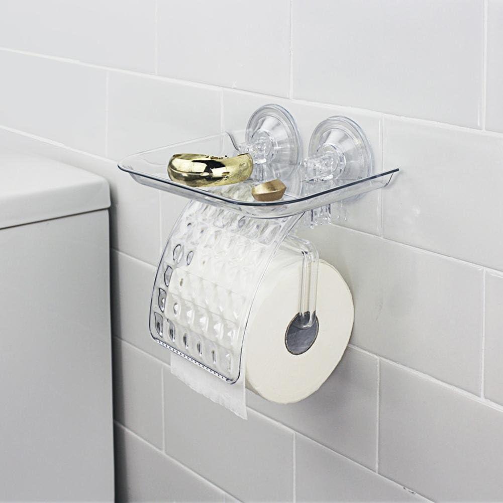 Sdkky-creative support de papier toilette, puissant support pour rouleaux de papier mandrins, DE SALLE DE BAIN WC Porte-serviettes de salle de bain, Volume Carton, gants imperméables